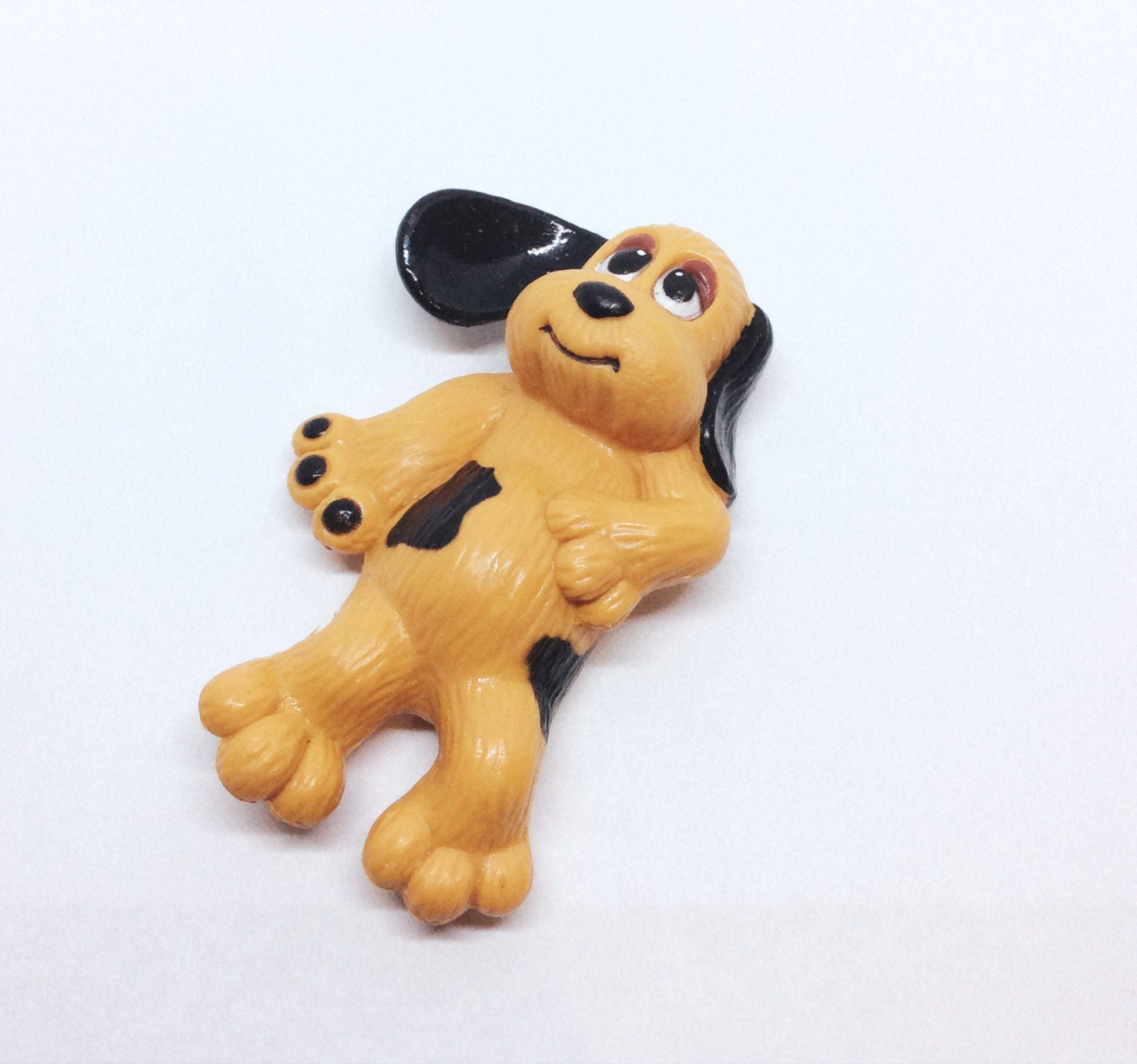 Vintage Pound Puppy PVC Figure from 1984 Tonka PP1 LGT 1980s