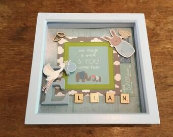 Personalised children's gift frames