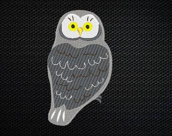 Owl Embroidery Design - 4x4 & 5x7 Inches Instant Download!