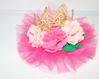 Lace Crown Clip or Headband