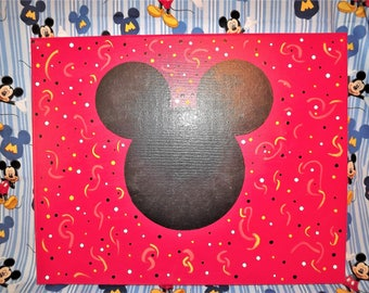 Mickey Mouse Inspired Collectable Pin Trading Canvas