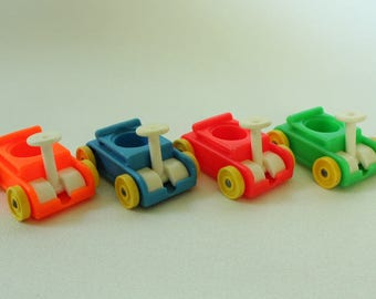 Fisher Price Little People, #656 Play Family Little Riders, WAGON, Made in U.S.A.