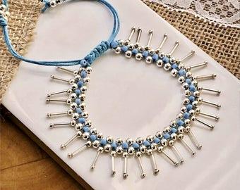 Boho Fringe Bracelet