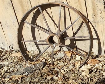Etsy your place to buy and sell all things handmade for Things to do with old wagon wheels