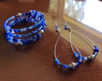 Harmony Bracelet and Matching Earrings