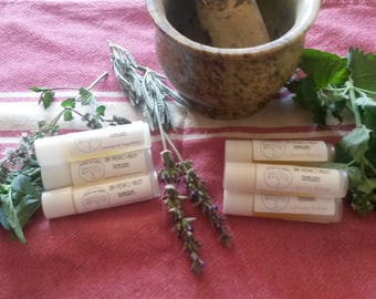 Lip Balms! Lemon Balm and Lavender/Peppermint take your choice or buy one of each