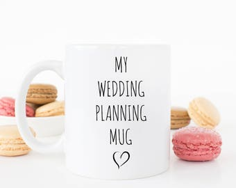 My Wedding planning mug