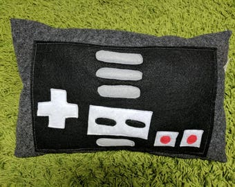 Classic NES controller pillow vintage cool