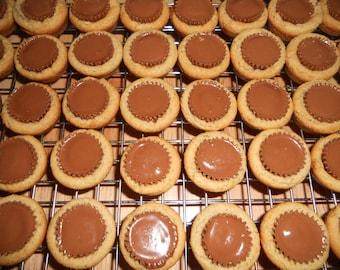 1 Dozen (12) Homemade Reese' Peanut Butter Cup Cookies