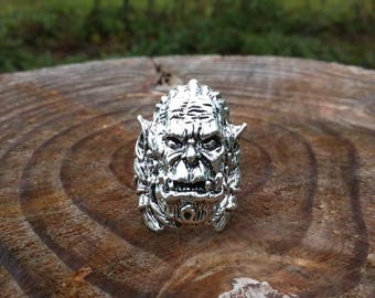 Mens War hog biker ring