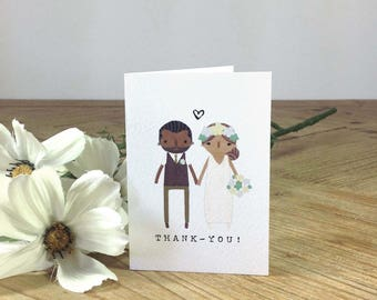 A6 THANK-YOU CARDS X10