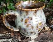 Handmade 16oz pottery mug