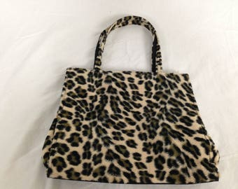 Lil cheetah / leopard purse