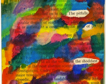 Repetitive Painted Poem