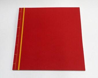 A4 Bespoke japanese binding - stab stitch