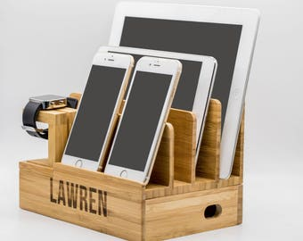 iwatch docking station,apple watch charging dock, apple watch and iphone charging stand, iphone and watch dock,wooden phone and watch stand
