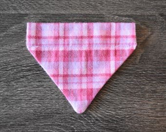 Pretty in Pink Dog Bandana - Size EXTRA SMALL