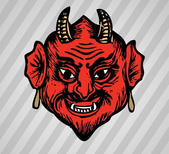 Devil Head Silhouette