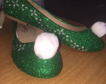 Tinkerbell-flats-peterpan-pompom-wedding