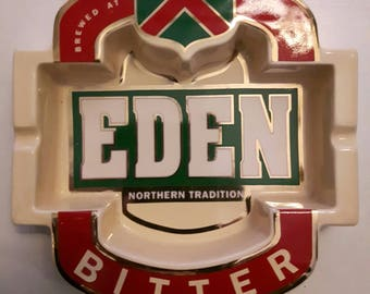 Vintage Large Eden Northern Tradition Pub Ashtray New