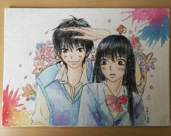 Shoujo Kimi ni todoke watercolour painting