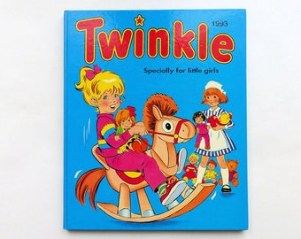 Vintage 1993 TWINKLE Specially For Little Girls Annual Book 1990's Childrens