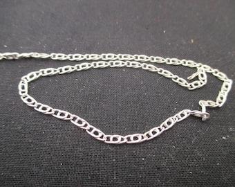925 Sterling Silver (92.5% Silver)-10 cm chain