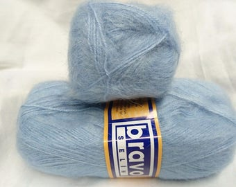 knit-crochet / 5 balls of wool MOHAIR /100gr/