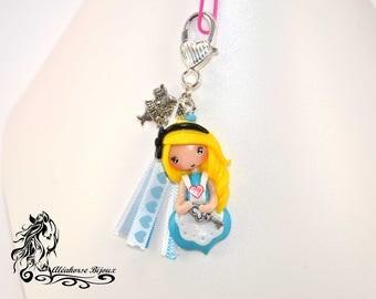 Key Alice in Fimo