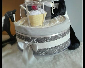 For baby diaper cake