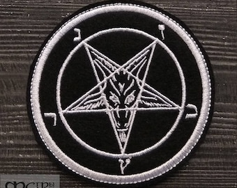 Patch Baphomet Black Metal.