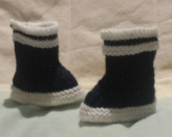 Wool baby boots
