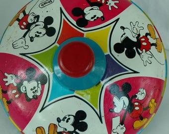Vintage Walt Disney Toy Top