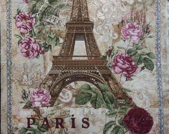 Very large vintage style Paris and Eiffel Tower sign!