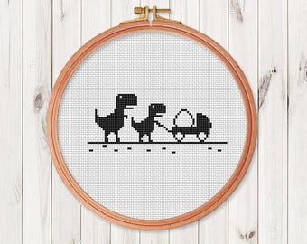 Cross Stitch Pattern  Easy Modern Cross Stitch Chart Xstitch pattern PDF Instant Download