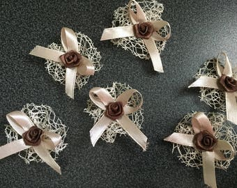 set of 10 loosening, to customize your creations, embellishment purse, hairclip, brooch, wedding