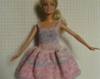 Your pink Barbie doll clothes, dress