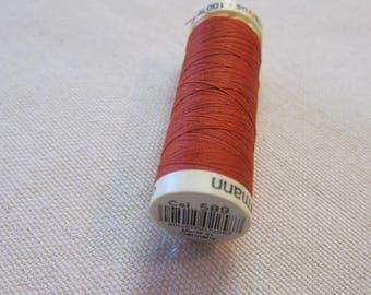 Sewing thread rust n 589 Gütermann 100% polyester