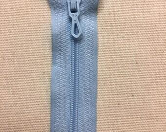 Closure zipper 25 cm Blue azure not separable ZIPPER PRESTIL