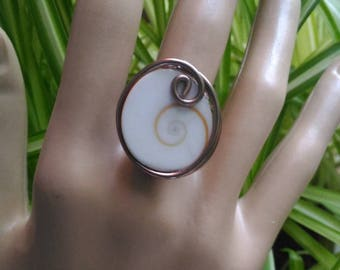 Adjustable Shiva eye ring