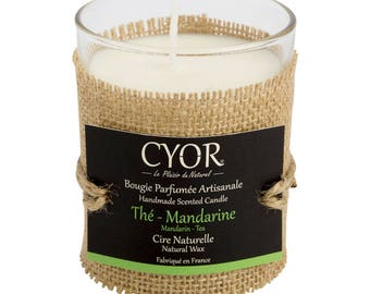 Candle SCENTED tea-Tangerine 130g