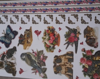 Stickers stickers cats chinstant birds Butterfly