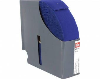 belt 38 mm x 50 cm Blue elastic