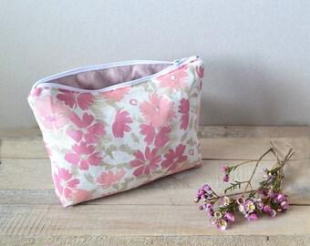 Floral linen - pink case