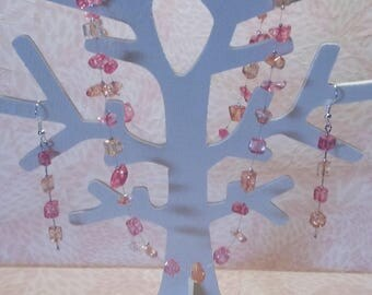 Necklace / earrings - Aura of Hibiscus