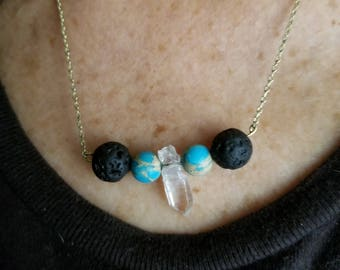 Essential oil Necklace diffuser