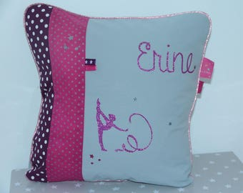 Dance pillow 40 x 40 cm to order, customizable GR