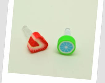 2 fish dust plug for mobile - 5