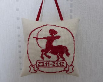 Pillow - Sagittarius zodiac sign