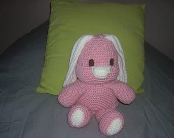 wool wool pink Bunny